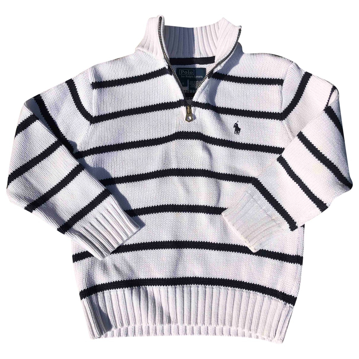 Polo Ralph Lauren \N White Cotton Knitwear for Kids 6 years - up to 114cm FR
