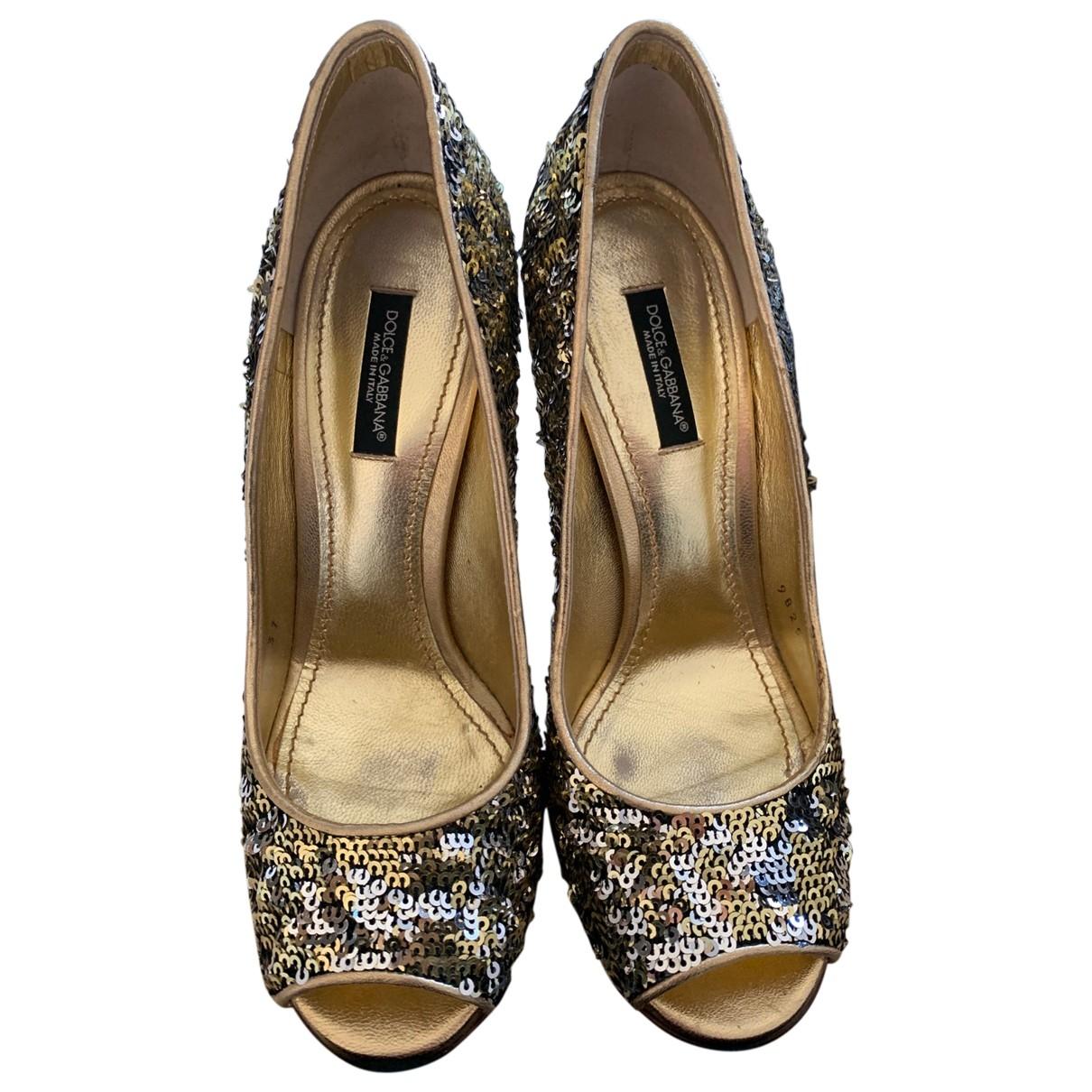 Tacones de Con lentejuelas Dolce & Gabbana
