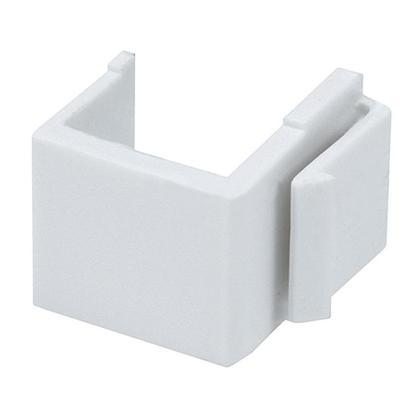 Insert vierge pour plaque murale, 10 pièces / paquet - blanc - PrimeCables®