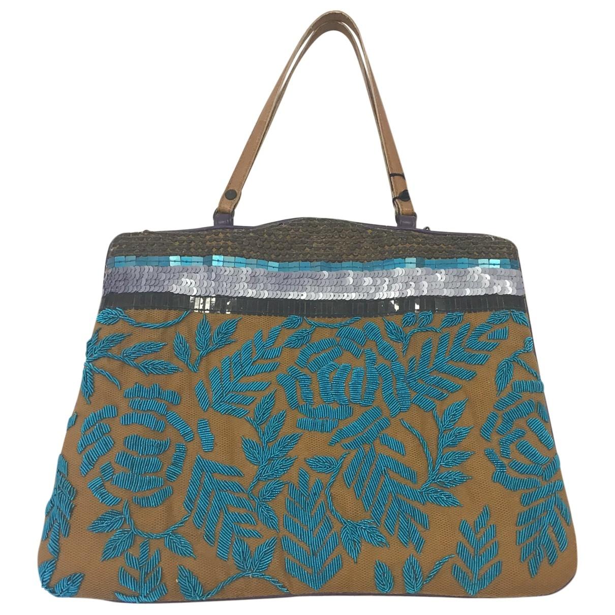Jamin Puech \N Handtasche in  Bunt Leinen
