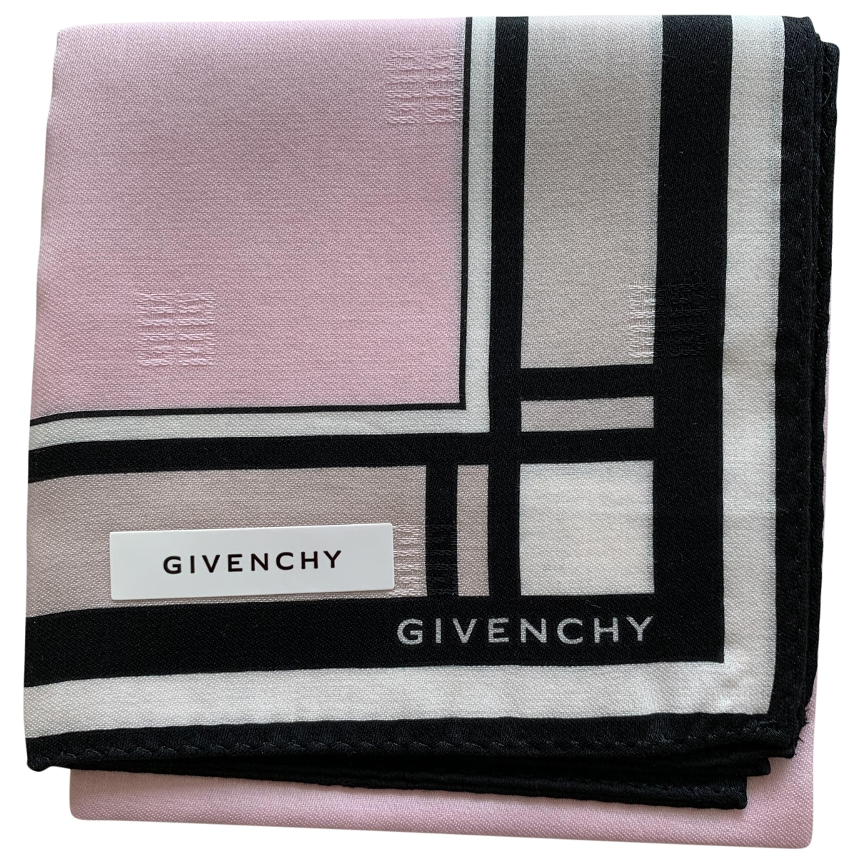 Givenchy \N Pink Cotton scarf for Women \N
