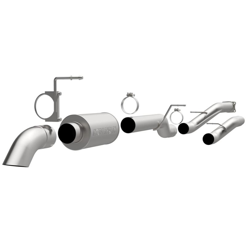 MagnaFlow 17130 Exhaust Products Off Road Pro Series Diesel 4in. Cat-Back