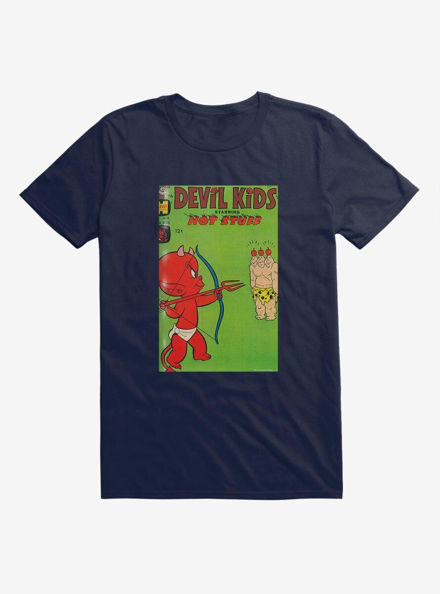 Hot Stuff The Little Devil Archery Comic Cover T-Shirt