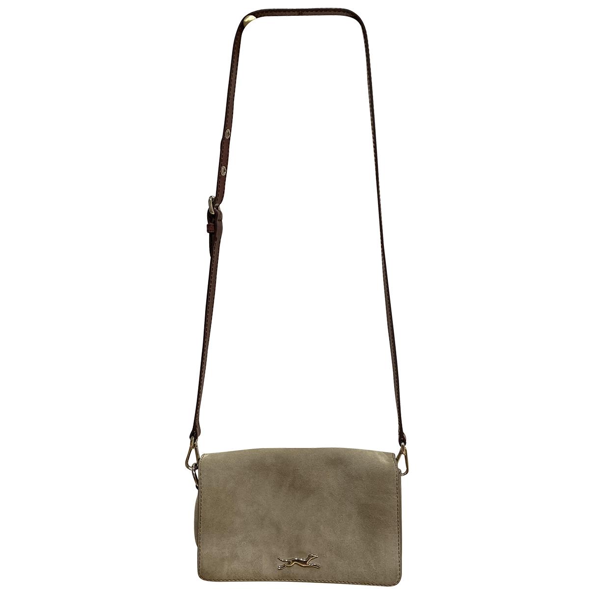Bimba Y Lola \N Handtasche in  Grau Veloursleder