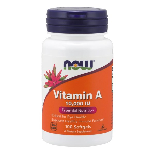Vitamin A 100 Sgels by Now Foods