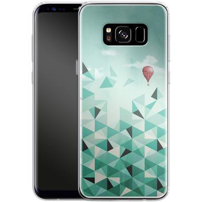 Samsung Galaxy S8 Silikon Handyhuelle - Emerald City von Little Clyde