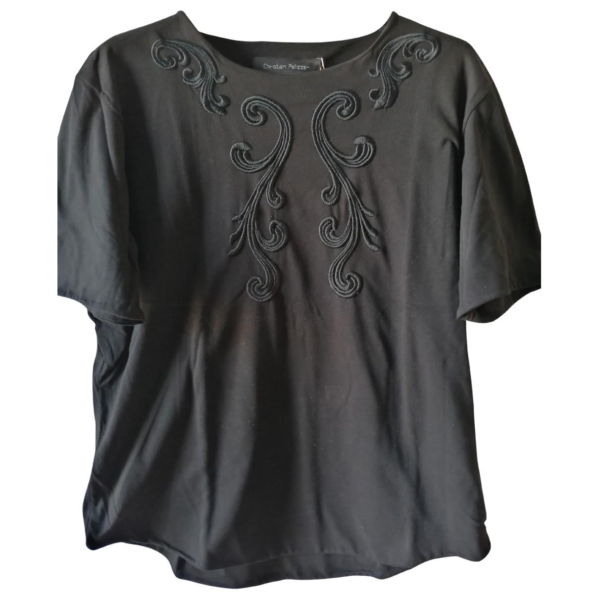 Christian Pellizzari \N T-Shirts in  Schwarz Baumwolle