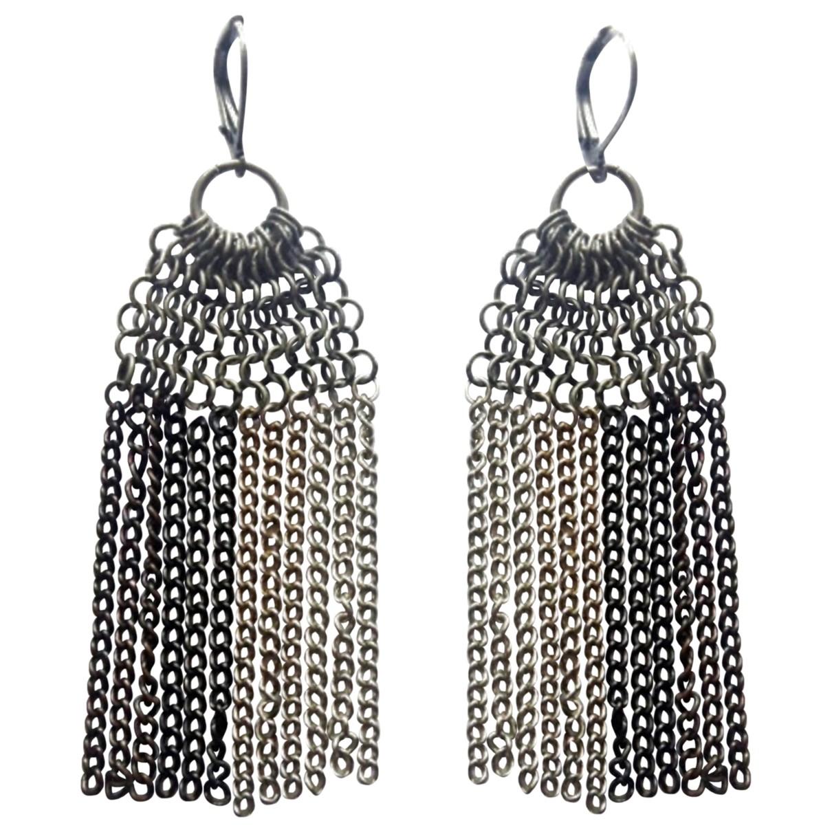 - Boucles doreilles Motifs Ethniques pour femme en metal