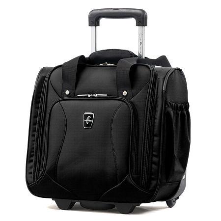 Atlantic Ultra Lite 14 Inch Lightweight Luggage, One Size , Black