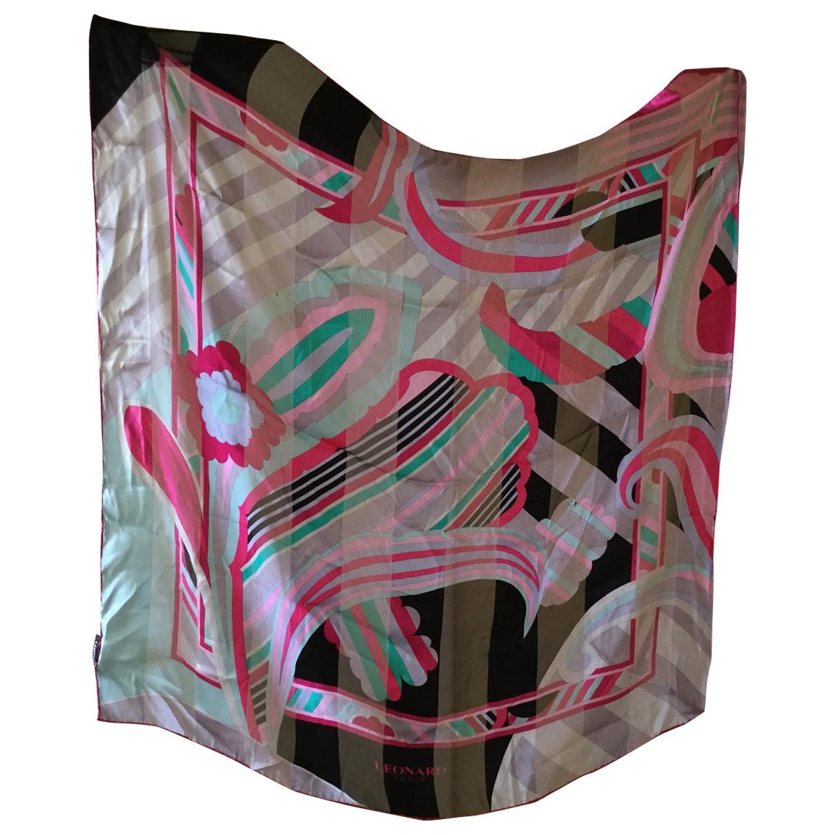 Leonard \N Multicolour Silk scarf for Women \N