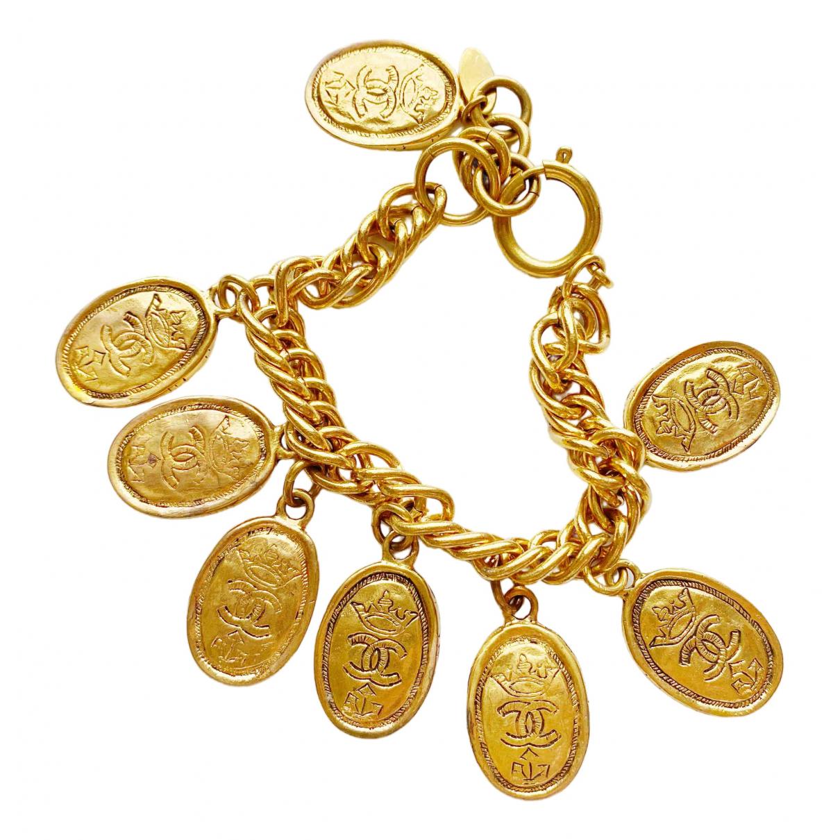 Chanel - Bracelet CC pour femme en metal