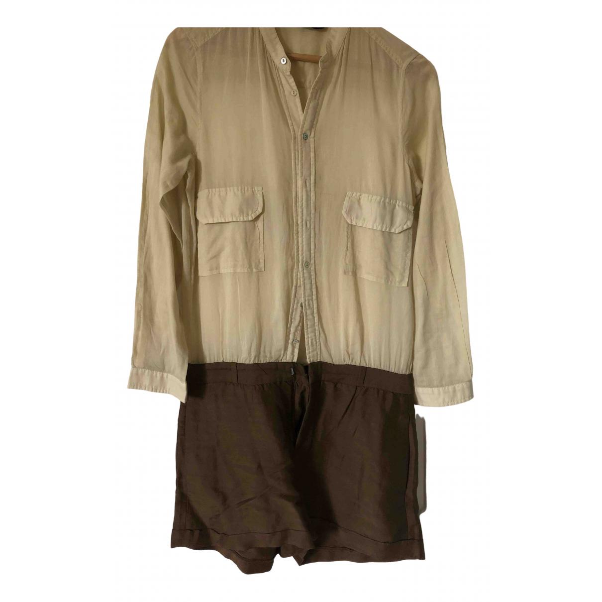 Zara \N Ecru Cotton dress for Women S International