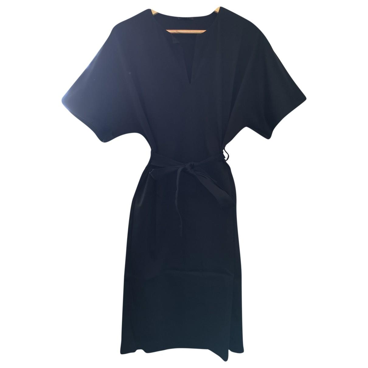 Cos \N Kleid in  Schwarz Baumwolle