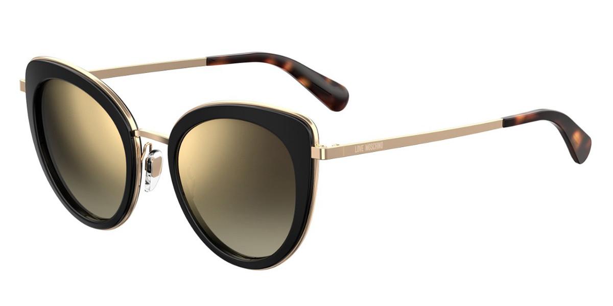 Moschino Love MOL006/S 807/JL Women's Sunglasses Black Size 51