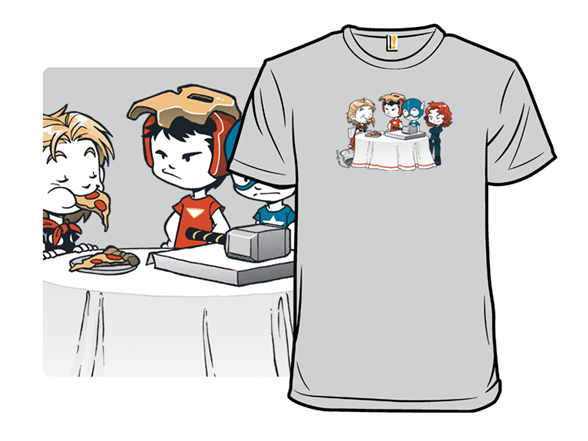 Super Jerk - Pizza T Shirt