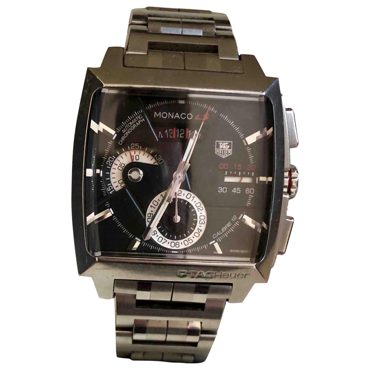 Tag Heuer Monaco Uhr in  Silber Stahl