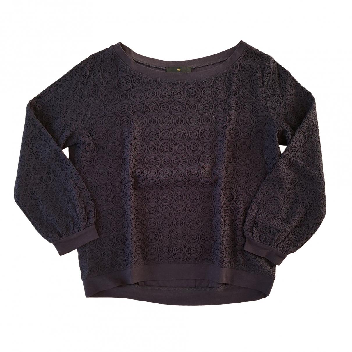 Essentiel Antwerp \N Pullover in  Blau Baumwolle