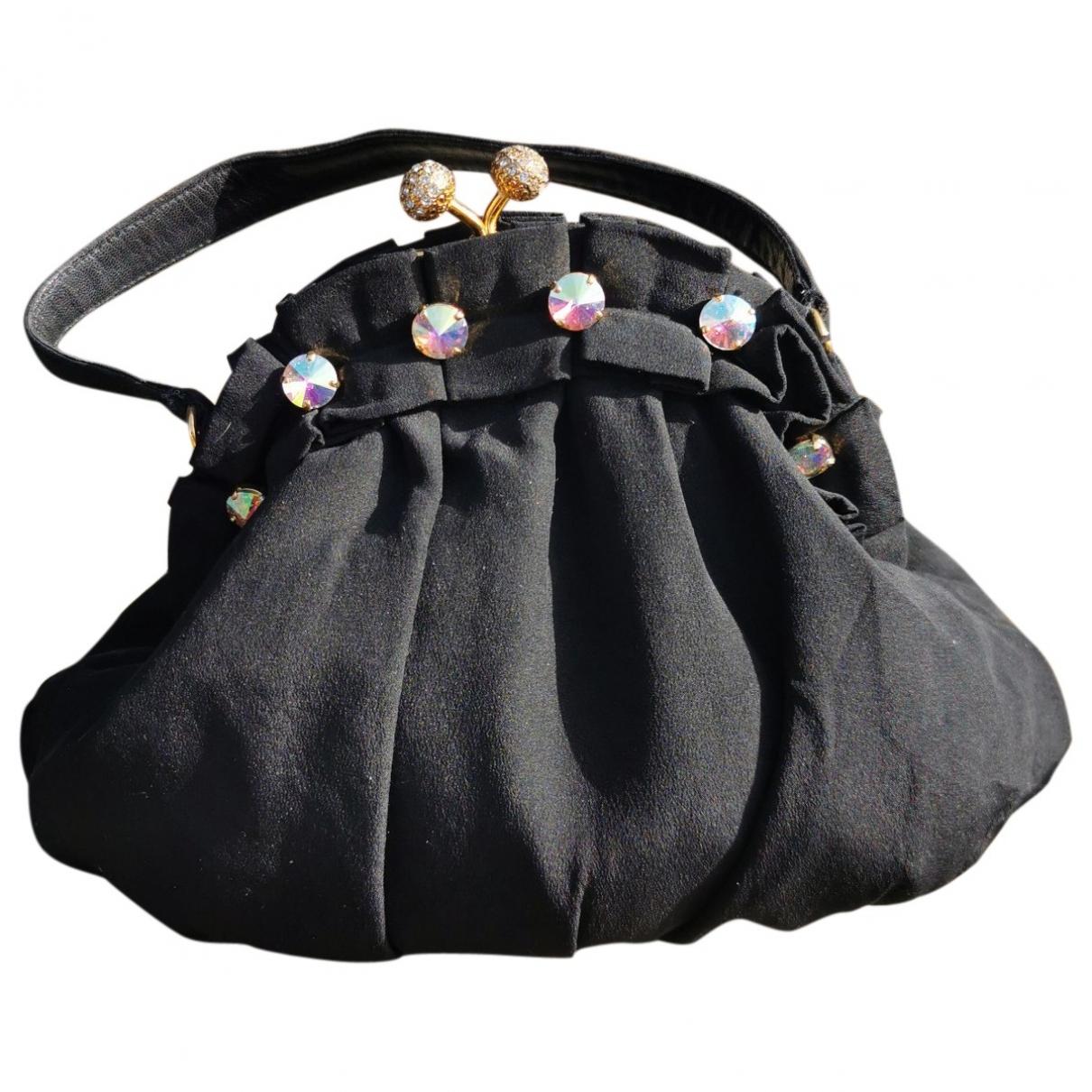 Moschino \N Handtasche in  Schwarz Synthetik