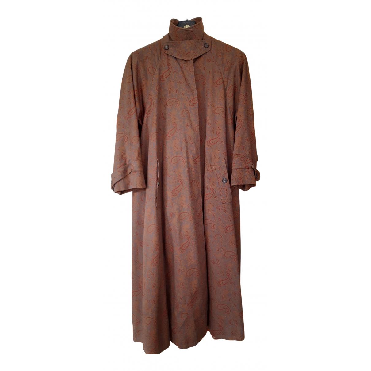 Aquascutum - Manteau   pour femme en coton - multicolore
