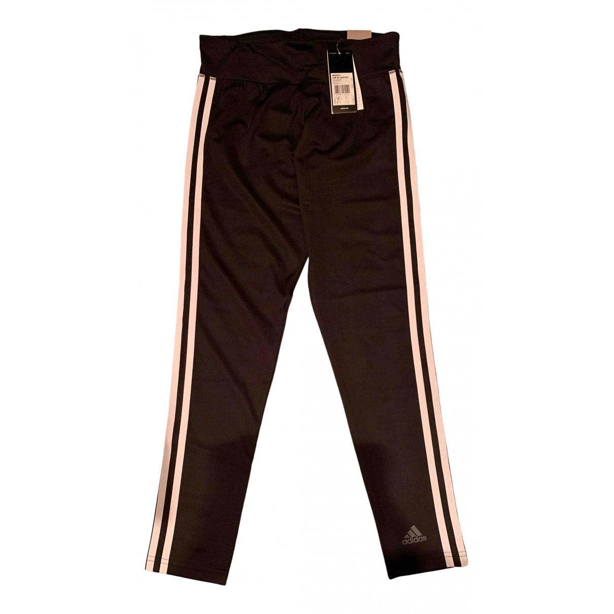 Adidas \N Black Trousers for Women S International