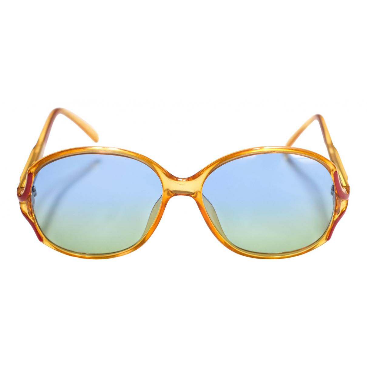 Christian Dior - Lunettes   pour femme - jaune