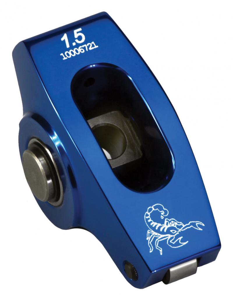 Scorpion Racing Products 3024 1.73F Big Block Ford 5/16 Ped. Blue Endurance Series Rocker Arms Set of 16