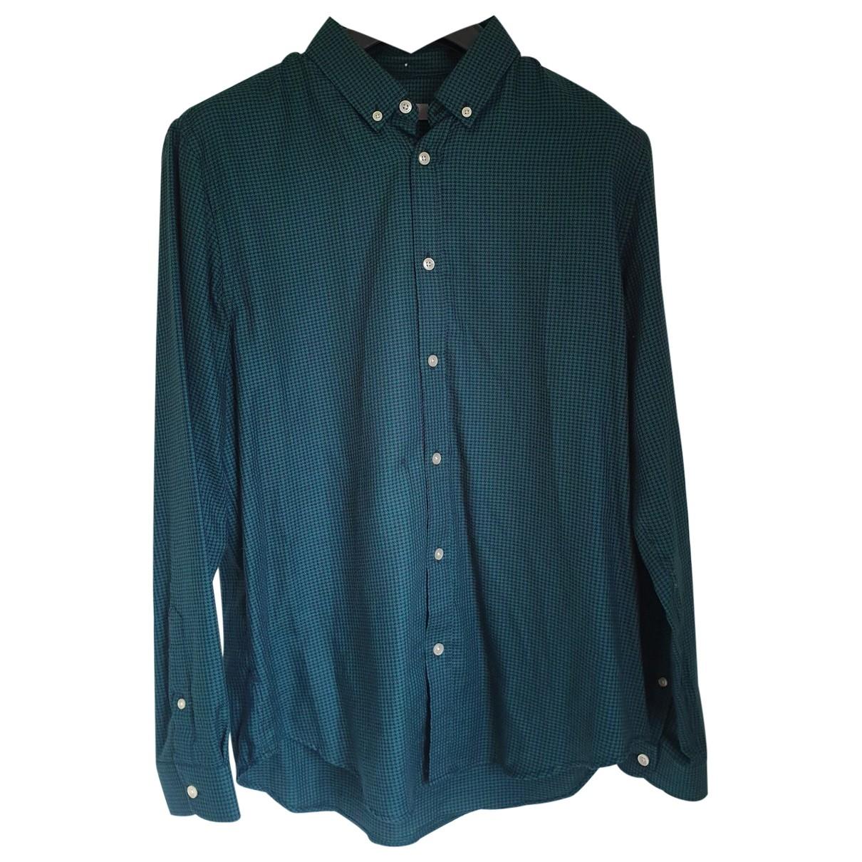 Jaeger - Chemises   pour homme en coton - vert
