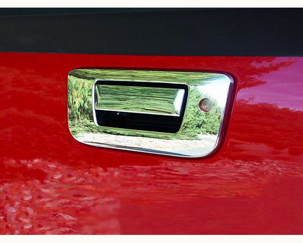 Quality Automotive Accessories ABS | Chrome Tailgate Handle Cover Kit Chevrolet Silverado 2500 2008