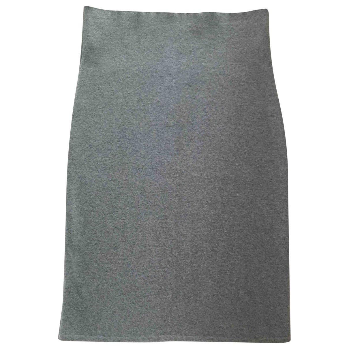 Falda midi de Cachemira Brunello Cucinelli