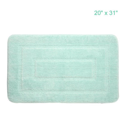 Anti-Skid 100% Polyester Microfiber Chenille Fast-Dry Mat, 20
