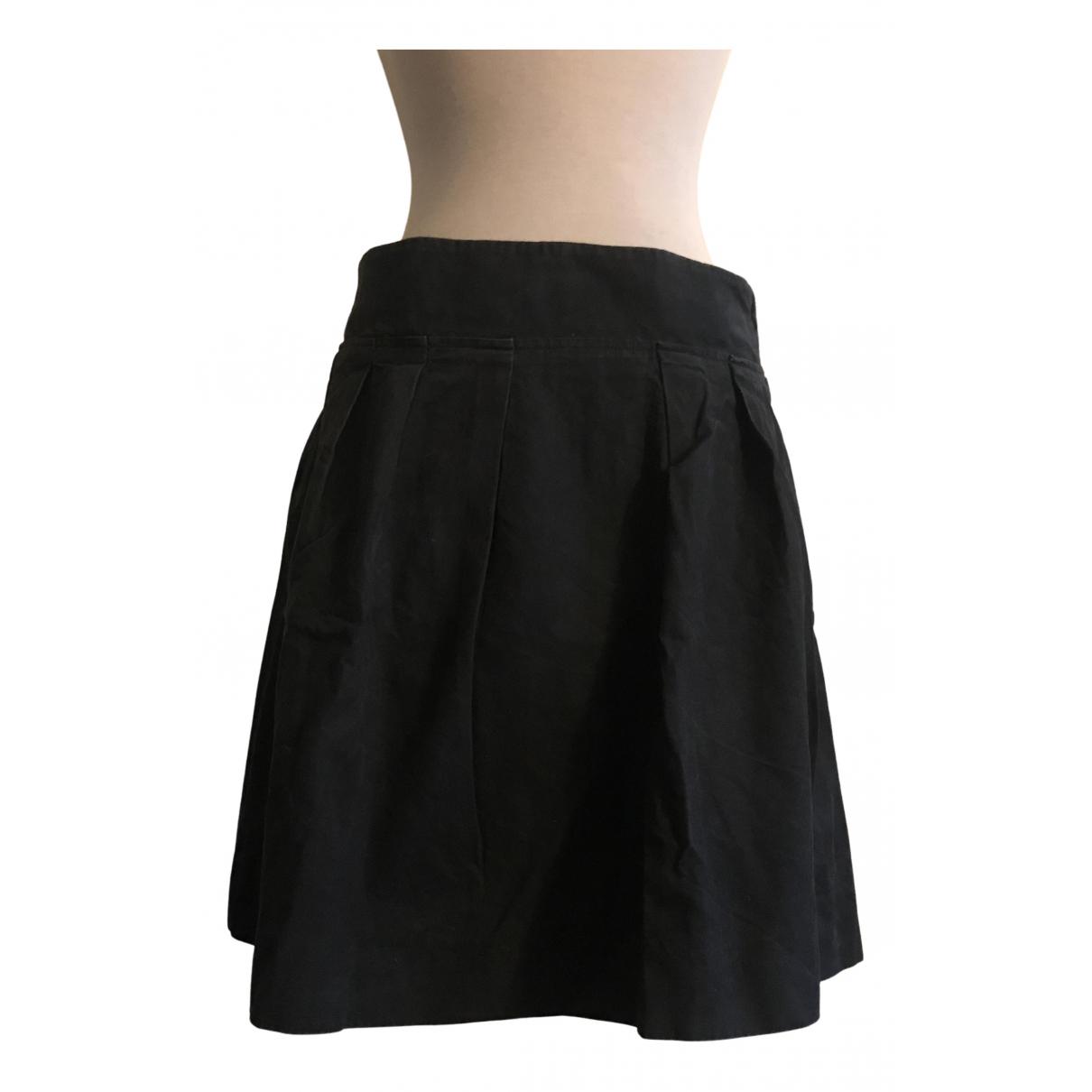 Sofie Dhoore - Jupe   pour femme en coton - noir