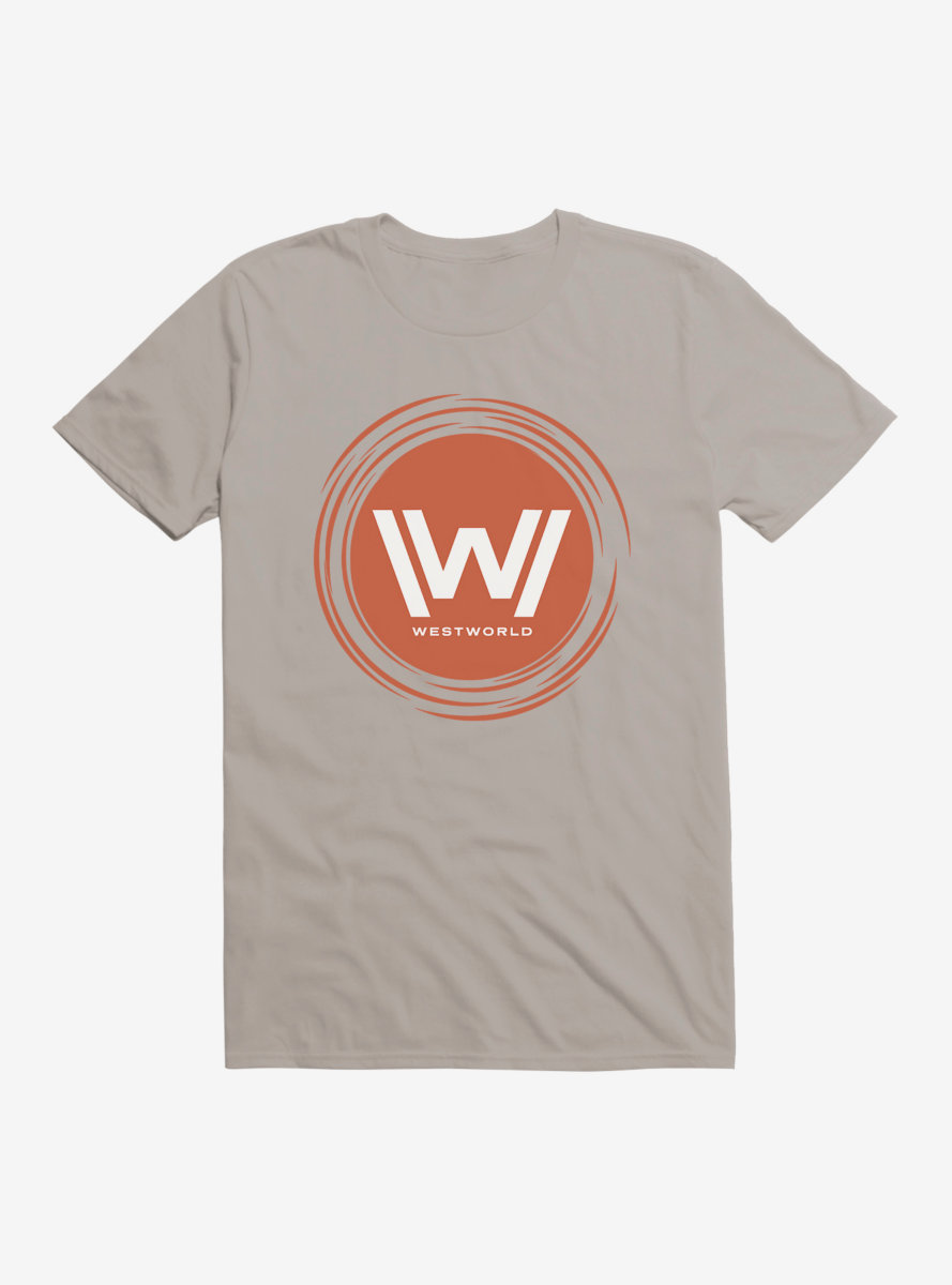 Westworld Orange W Circle Icon T-Shirt