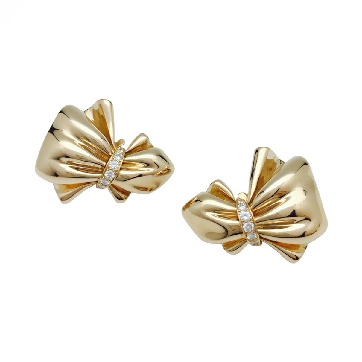 Van Cleef & Arpels - Boucles doreilles   pour femme en or jaune