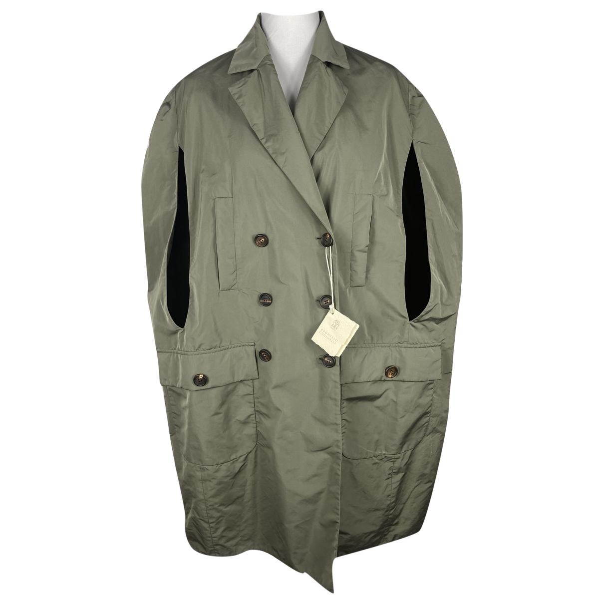 Brunello Cucinelli \N Khaki coat for Women One Size International