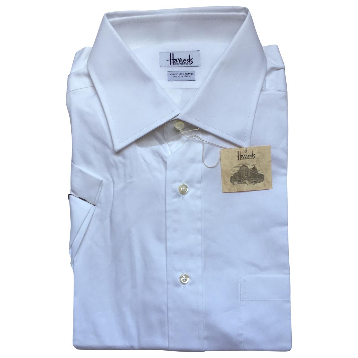 Harrods \N Hemden in  Weiss Baumwolle