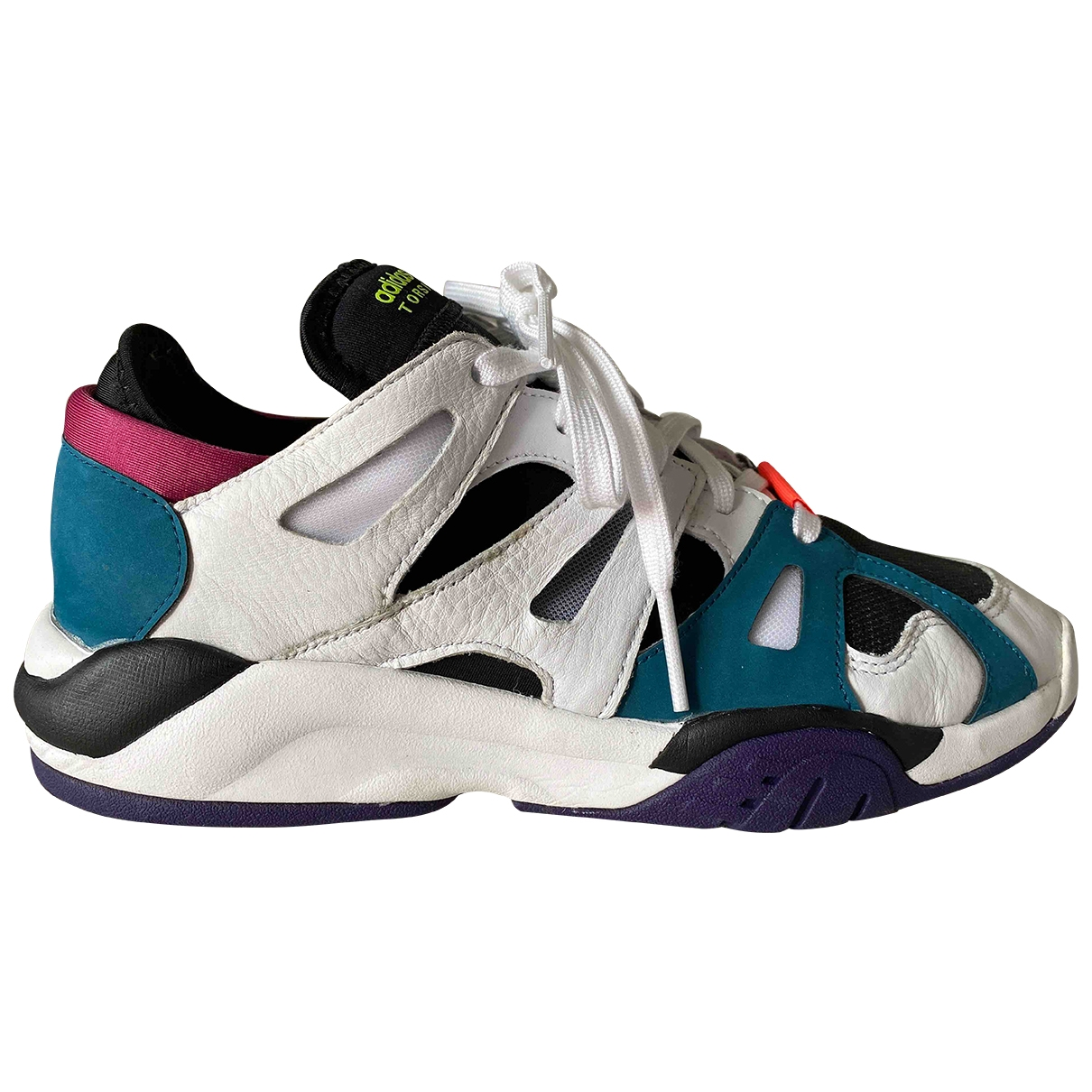 Adidas \N White Leather Trainers for Men 42 EU