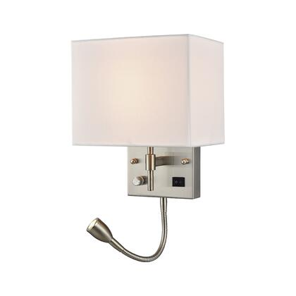 17157/2 Sconces 2 Light Wall Sconce in Satin