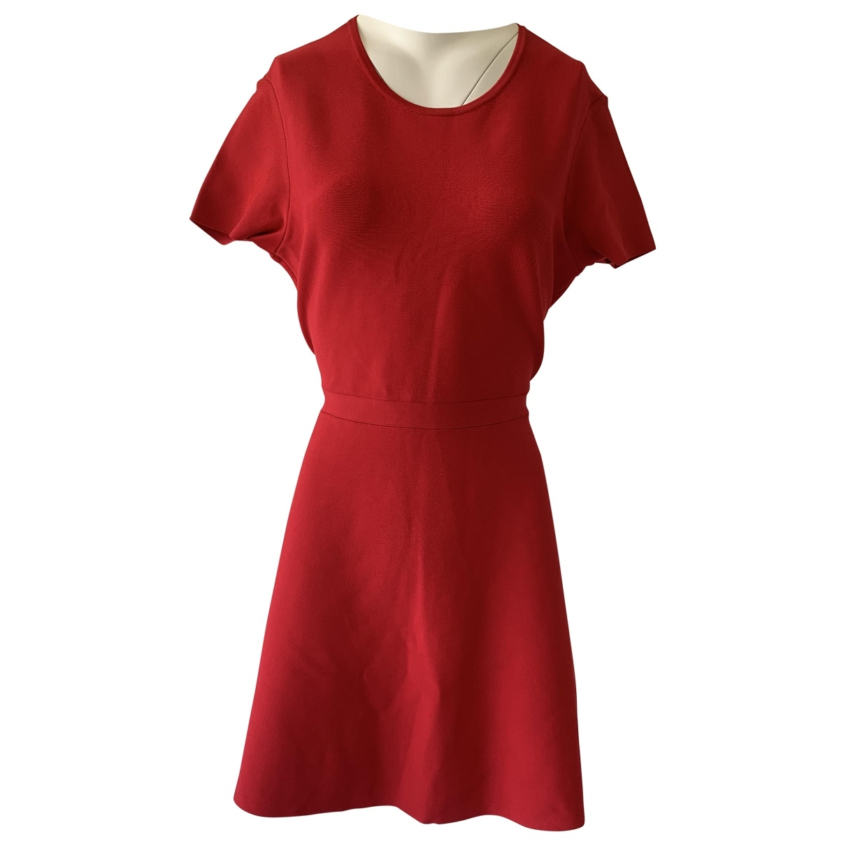 Bcbg Max Azria \N Kleid in  Rot Polyester