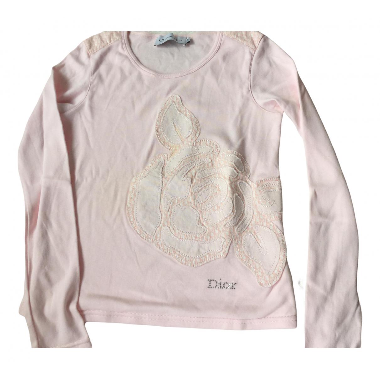 Dior \N Oberteile in  Rosa Baumwolle