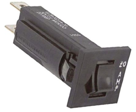 TE Connectivity W28 Single Pole Thermal Magnetic Circuit Breaker - 32 V dc, 250 V ac Voltage Rating, 20A Current Rating