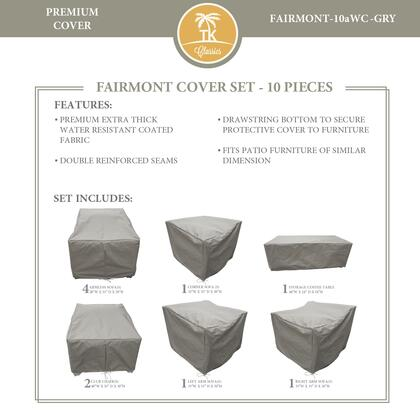 FAIRMONT-10aWC-GRY Protective Cover Set  for FAIRMONT-10a in
