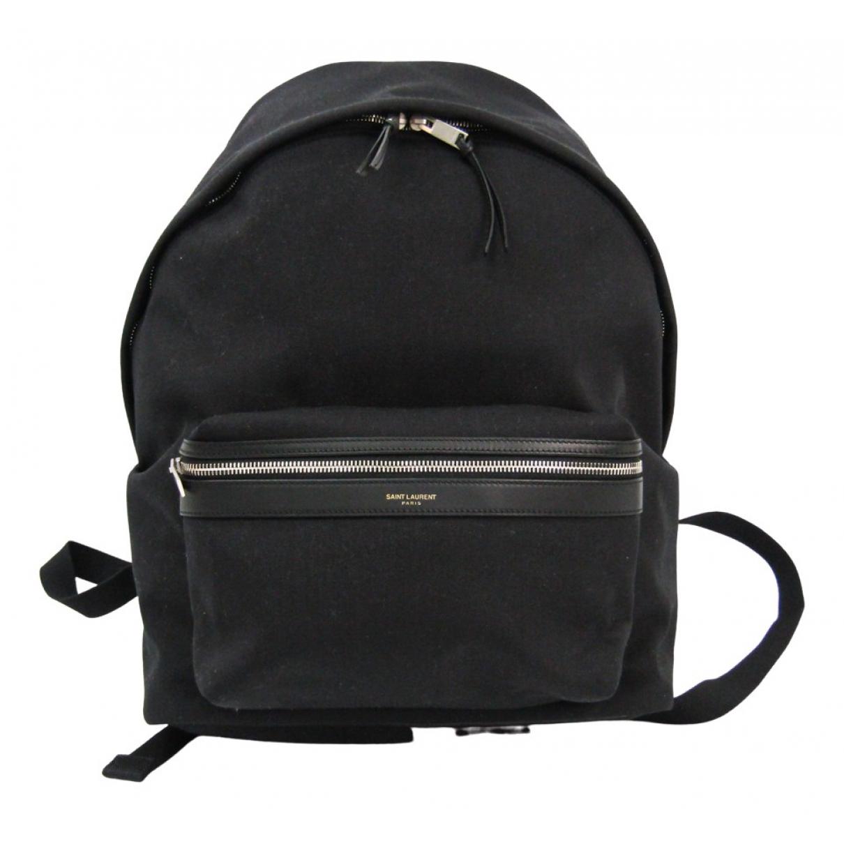 Saint Laurent N Black Cloth backpack for Women N
