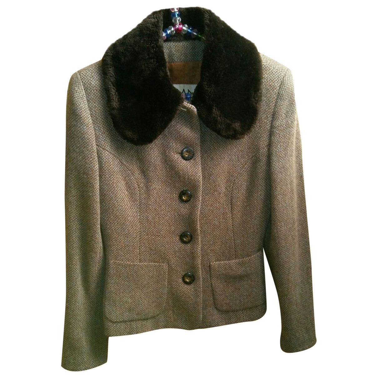 Dolce & Gabbana \N Brown Wool jacket for Women 40 IT