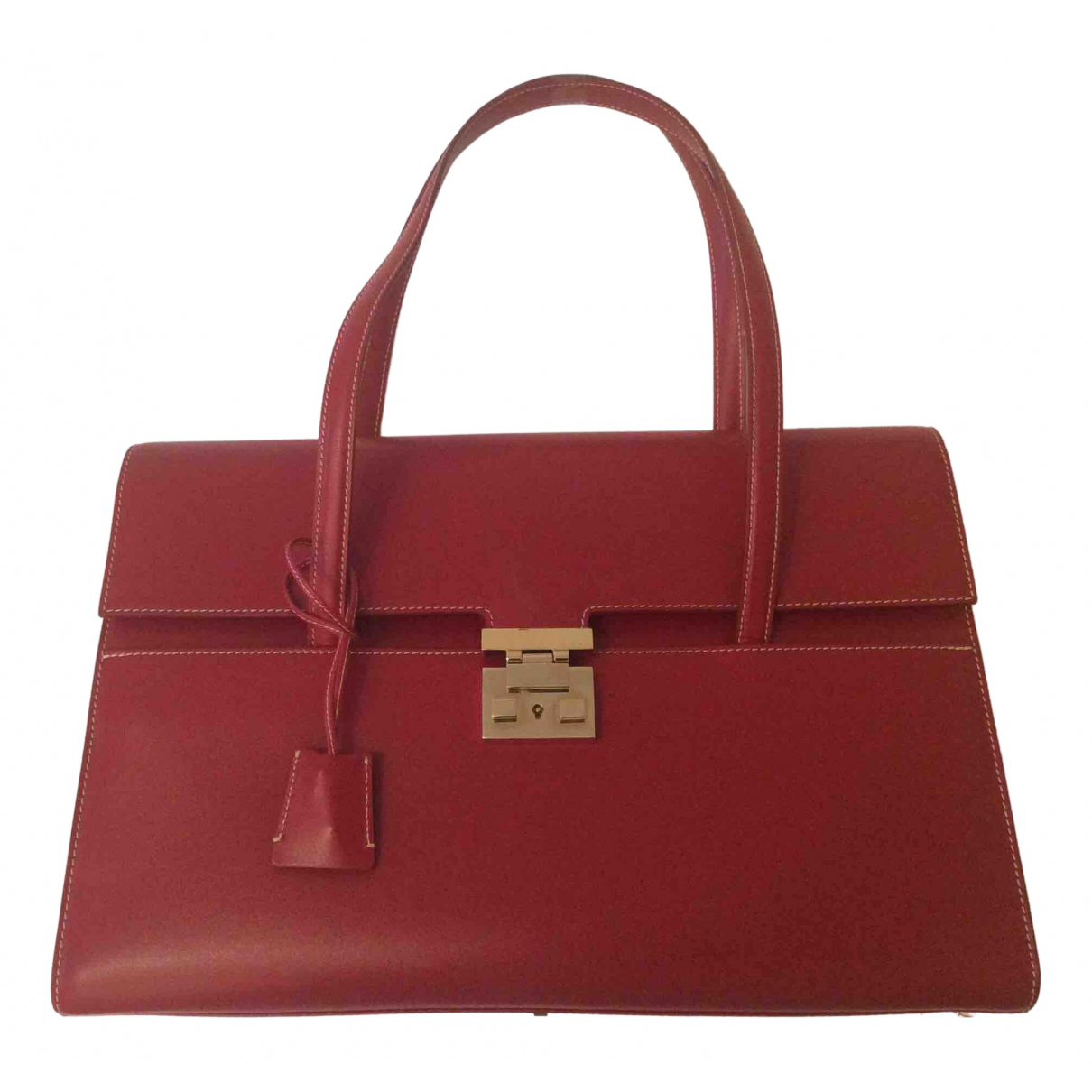 Gucci Padlock Red Leather handbag for Women \N