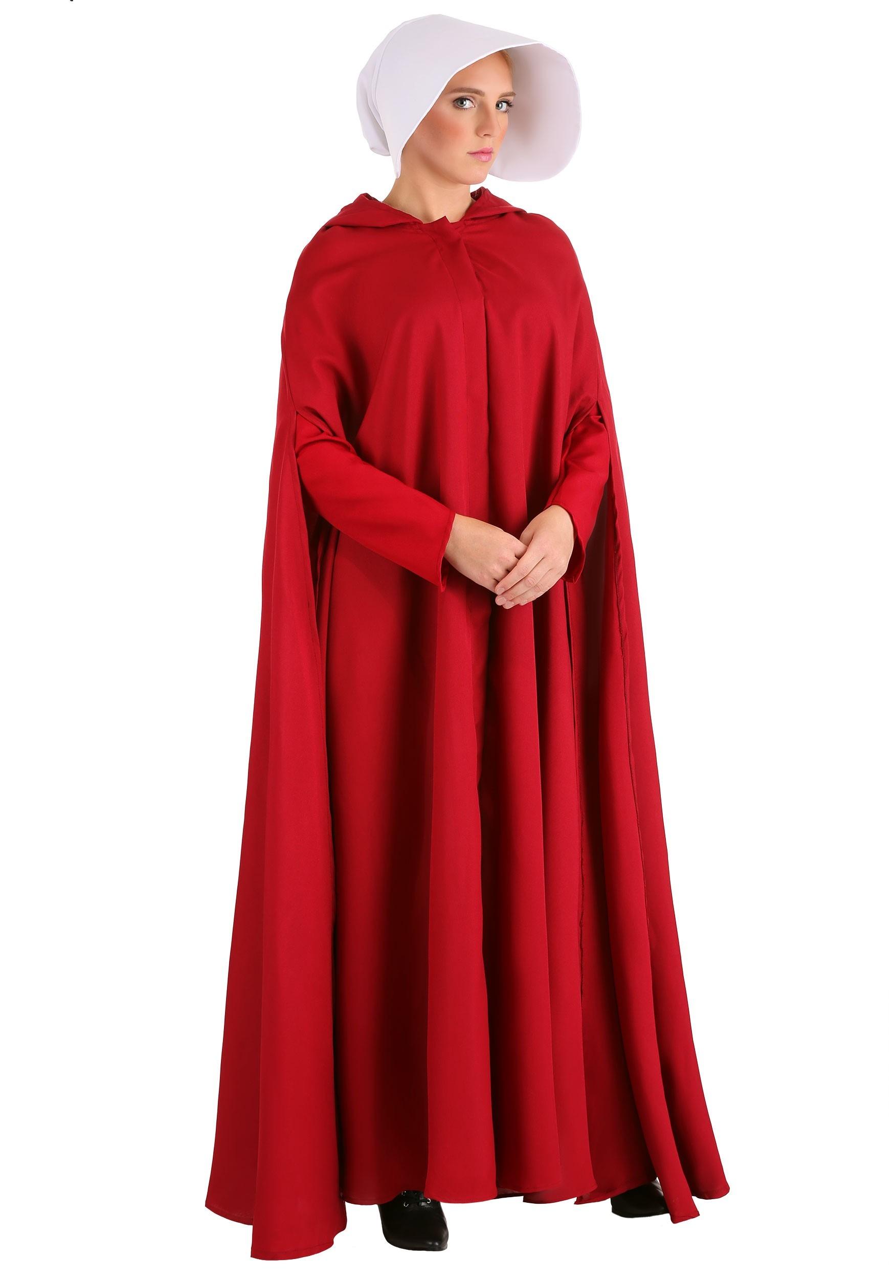 Handmaid's Tale Costume for Women | Movie Character Costume
