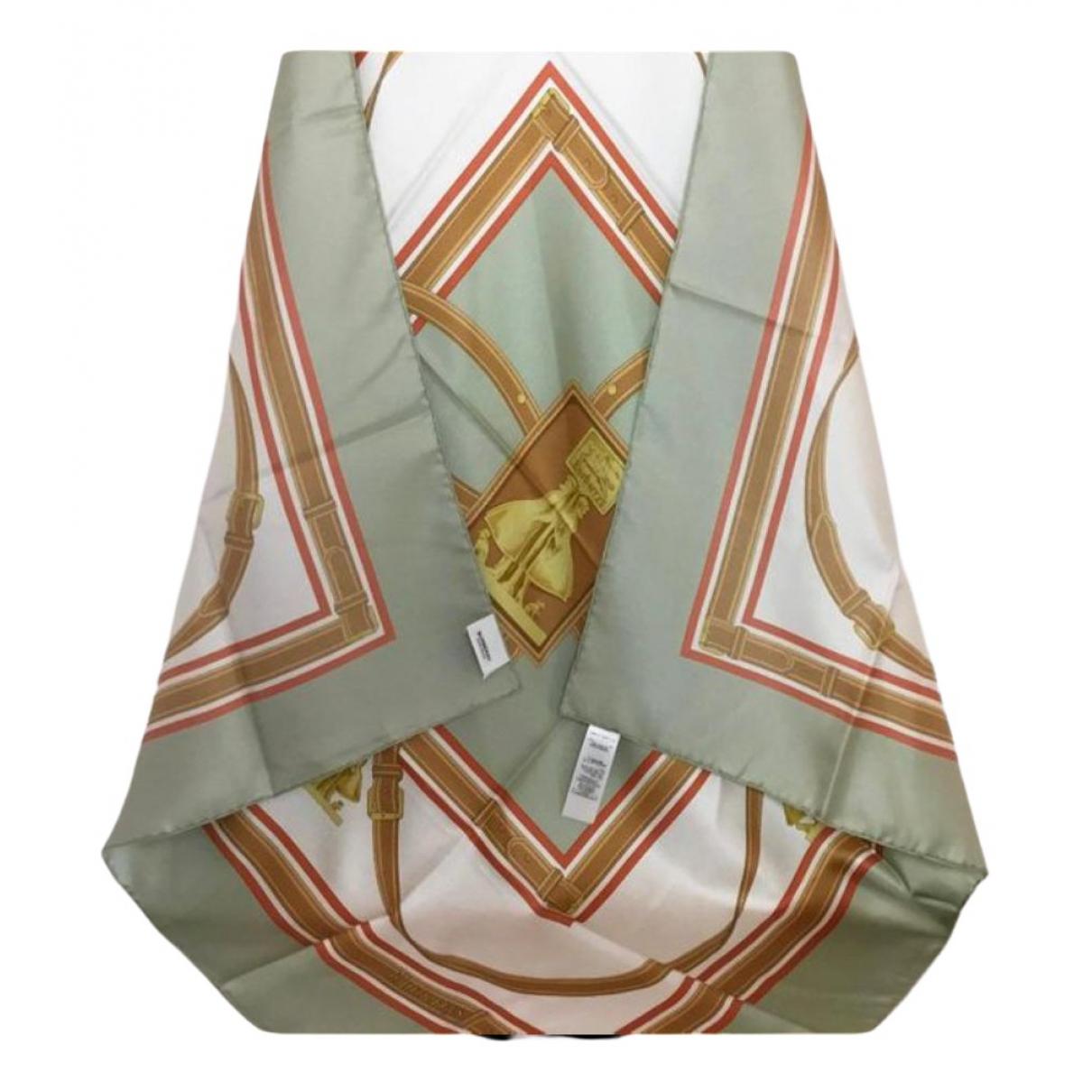 Burberry N Grey Silk Silk handkerchief for Women N