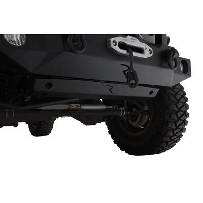 Rampage Trailcrawler Skid Plate with Lightbar Holes (Black) - 7689