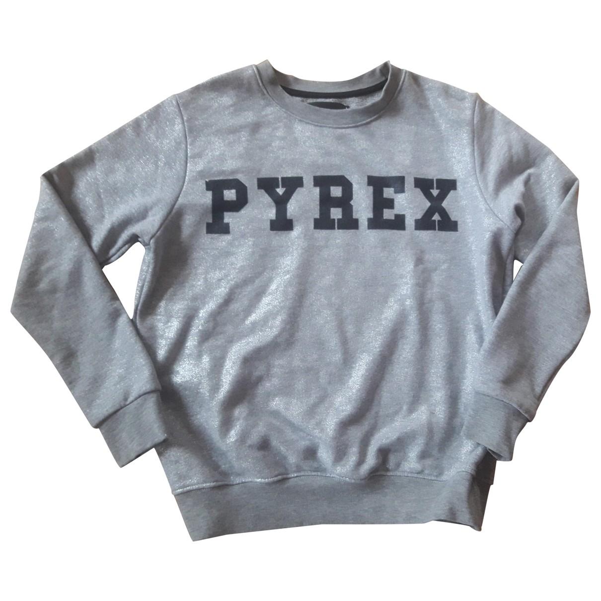Pyrex - Pull   pour femme en coton - gris