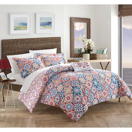 Chic Home Aspen Quilt Set, One Size , Pink