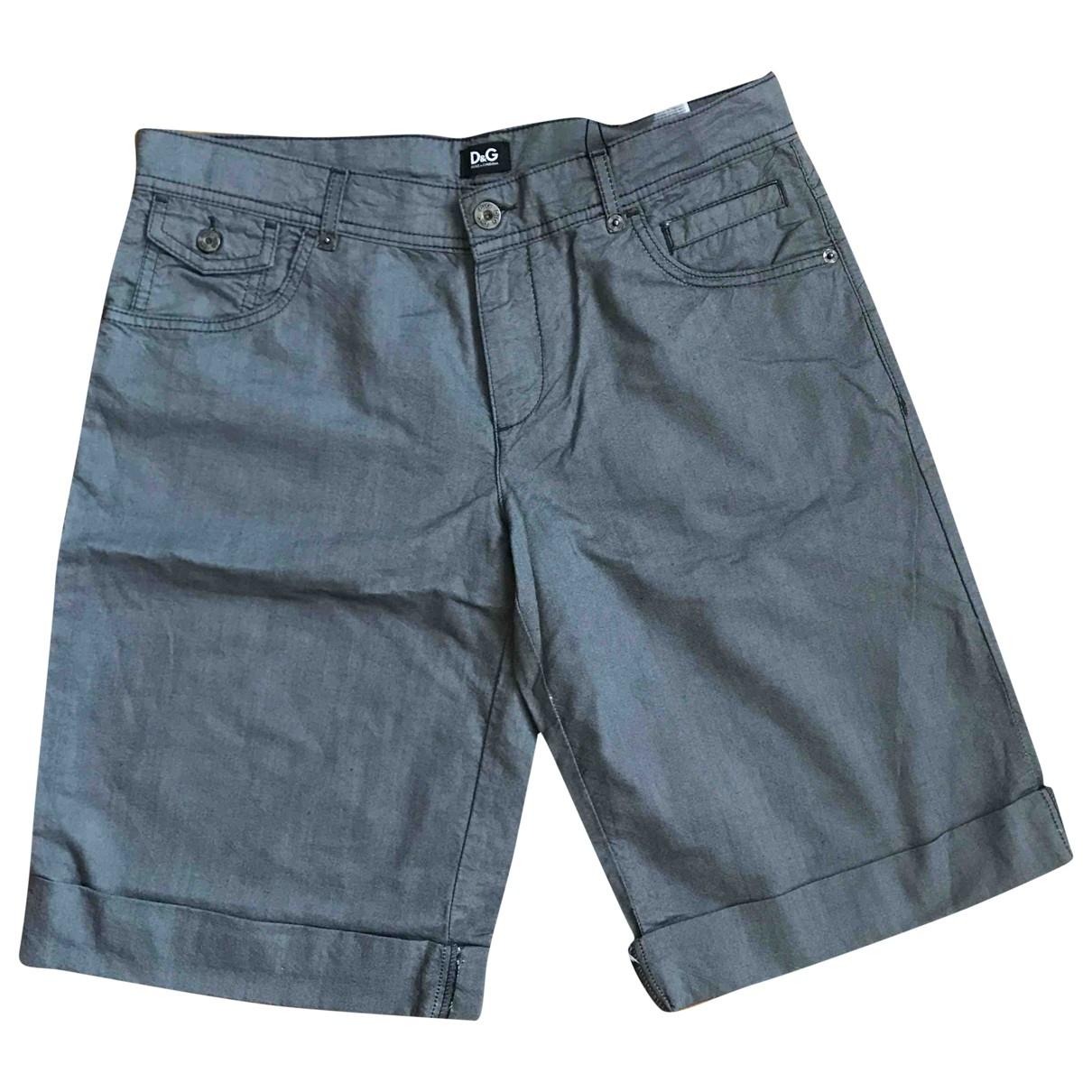 D&g - Short   pour homme en coton - gris